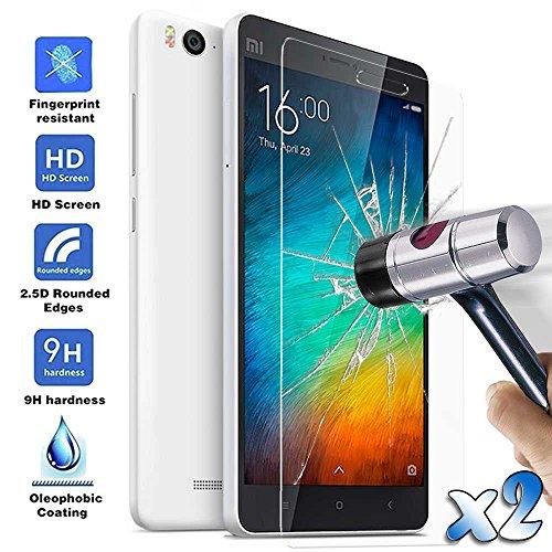 2x Schutz folie für Xiaomi Mi 4C panzerglas Bildschirmschutz Panzerfolie Glas Folie