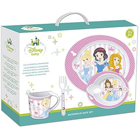 5piezas Microondas-Juego de Disney Princess Baby