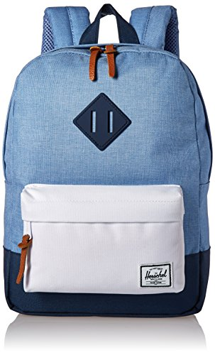 herschel-supply-co-settlement-kids-backpack-1-piece-chambray-navy-white-navy-one-size