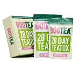 Bootea 28 Day Tea Detox - Daytime and Night Time Slimming Teabags - Weight Loss, Energy Booster and Sleep Aid - Proven Benefits for Urinary and Digestive Health