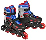 Cars Pattini in linea fitness ragazzo Street X Adjustable, Ragazzo, Inline Skates Fitness Street X Adjustable, Schwarz/Blau / Rot
