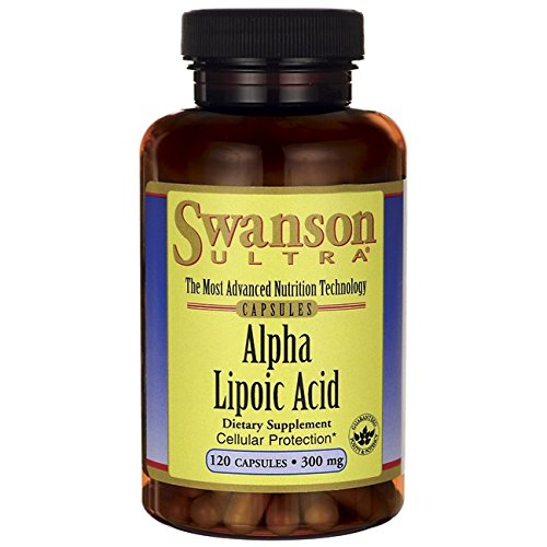 Swanson Ultra Alpha Lipoic Acid 300mg, 120 Capsules Test