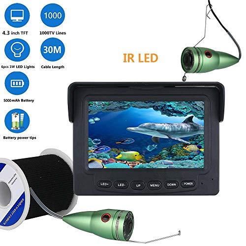 MBEN Fischfinder Unterwasserfischen Kamera, 30 Mt 1000TVL 4,3