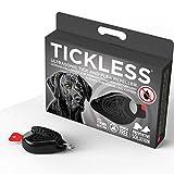 Tickless Pet Ultraschall-Abwehr gegen Zecken und Floh in schwarz Farbe ungiftig geeignet sowohl für Katzen & dogs- Shopper Instincts