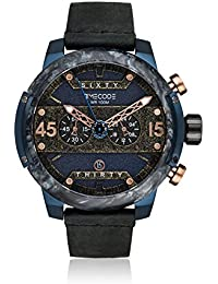 Timecode Reloj de cuarzo Man Hubble 1990 Negro 46 mm