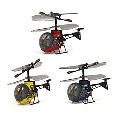 Silverlit Heli Bee 3-Channel I/ R Miniature Remote Control Gyro Helicopter with Led Light (Assorted)