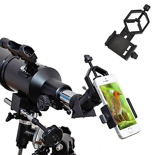 Ueasy Smartphone Capturer Universal Handy Adapter Halterung Kompatibel mit Fernglas Monokular Spektive Teleskope und Mikroskope