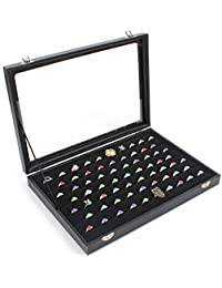 Sinoba jewellery box display with glass lid