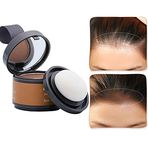 Hair Color Powder, Leegoal wasserdicht Line Schatten Make-up Haare Abdeckung Concealer Haarpuder erfrischt Haar (light brown) -