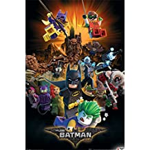 LEGO Batman Boom Póster, multicolor