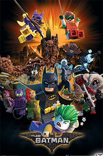 Movie - 61 x 91.5 cm | PostersDE (Lego Batman-dekorationen)