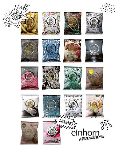 einhorn Kondome - Geschenk Special - Super Dino - 63 Stück - vegan + 2 schlüpfrige Stempel und Stickerbogen - 5