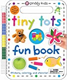 Best Priddy Books Kid Books - Tiny Tots Fun Book: Stickers, Coloring, and Stencils! Review