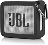 TXEsign Travel Protective Silicone Stand Up Carrying Case Compatible with JBL GO 2 Portable Bluetooth Waterpro