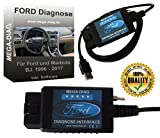 Diagnosegerät FORScan USB Diagnose Interface für Ford und Mazda Focus