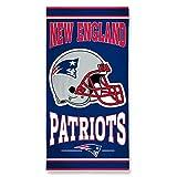 New England Patriots NFL Beach Towel - 76 x 152 cm