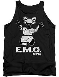 Eureka Comedia Drama serie de televisión de ciencia ficción Syfy Emo adultos camiseta de tirantes camiseta