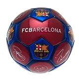 FC Barcelona Offizieller Fußball Signature Skull Ball, ideal zum Geburtstag oder zu Weihnachten, Geschenk für Männer und Jungen