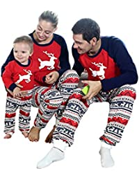 27027872c9 Baywell 2018 Conjunto de Pijamas Familiares