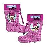 Familie24 Disney Minnie Maus Kindergummistiefel Gummstiefel Kinderschuhe Regenstiefel (22)