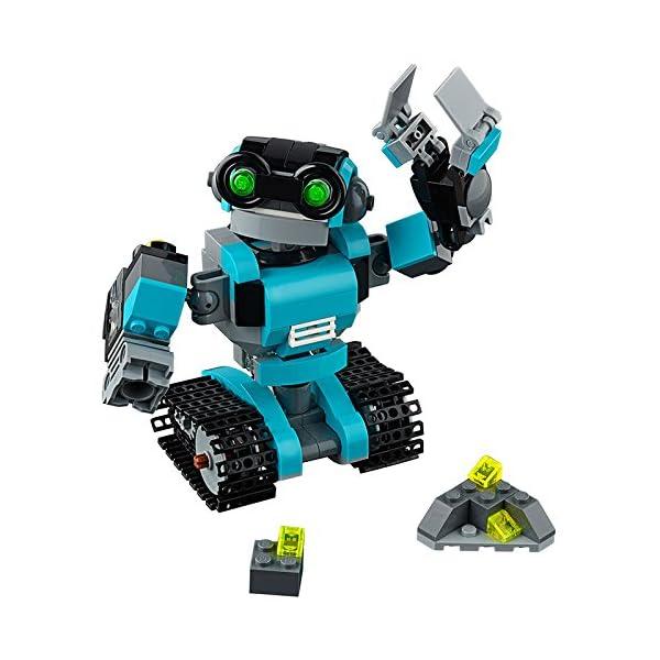51mMDj1f aL. SS600  - LEGO Creator - Robot Explorador (31062)