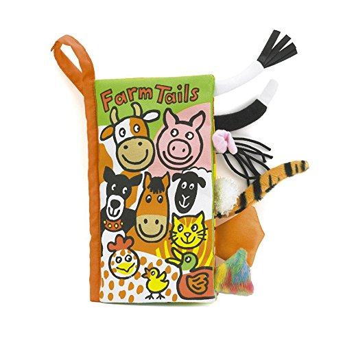 Jelly Cat Jellycat Soft Books, Farm Tails