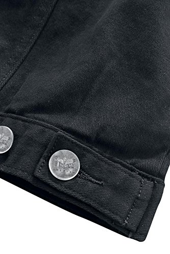 Black Premium by EMP Denim Vest Weste schwarz Schwarz