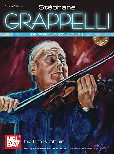 Grappelli Stephane Gypsy Jazz Violin CD (Mel Bay Presents)
