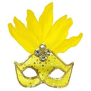 WIDMANN Genérico-Lobo amarillo con plumas mujer