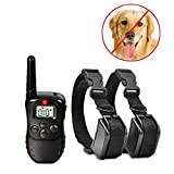 Generic only controller : Dog Training Collar 300M 100LV Remote Rechargeable And Waterproof