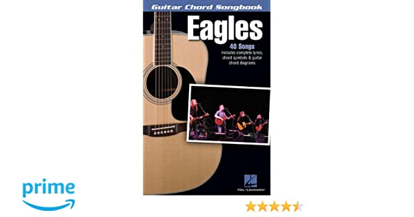 Eagles Guitar Chord Songbooks Amazon The Eagles Books