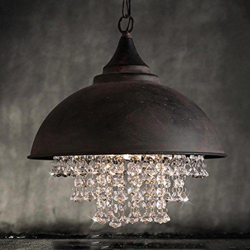Moderne Task-lampe (OOFAY Vintage Lampe Loft Kronleuchter Beleuchtung Moderne Kristall Anhänger Hängende Beleuchtung für Home Hotel Restaurant Dekoration, warm Light)