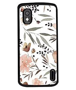 PrintVisa Designer Back Case Cover for LG Google Nexus 4 E960 (Abstract Accent Art Bouquet Artwork Beauty Beautiful Bloom)