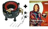 Addi Express-Strickmaschine und Turbo-Stricken mit dem Addi Express-Musterbuch (evtl. nicht in deutscher Sprache)
