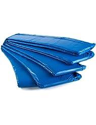 AMPEL 24, Coussin de protection pour trampoline de jardin | 2 couleurs au choix | tailles disponibles: 305 – 409cm