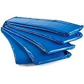 Ampel 24 Trampolin Randabdeckung | reißfest | 100% UV-beständig | grün oder blau | passend für Ø 305 / 366 / 396 / 430 / 460 / 490 cm