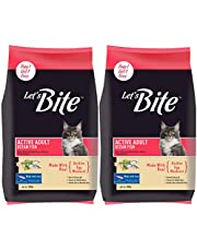 Let's Bite Active Adult(+1 Year) Dry Cat Food, Ocean Fish, 500gm (Buy 1 GET 1 Free)