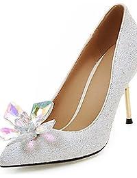 Step n Style mujeres zapatos novia Pisos Zapatos de boda indio xBP39GDJ