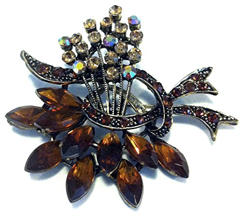 vintage-style-amber-crystal-brooch-can-convert-to-bridal-jewellery-hair-accessories-for-wedding