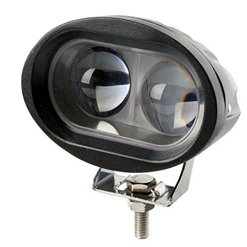Fahrzeugbeleuchtung 20w LED Auto Arbeit Licht 4D Licht Konvexe Linse 4 Zoll LED Off Road Auto Top Light ( Farbe : Spotlight 30° ) - Konvexe Leuchte