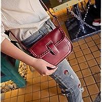 KPHY-Korean Fashion Small Fresh Pu Soft Bag Youth Leisure Square Shoulder Messenger BagGules