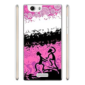 a AND b Printed Mobile Back Case Cover For Micromax Canvas Nitro 2 A311 (MIC_E311_1794)