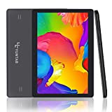 Yuntab Tablette 10.1 pouces 1,3GHz Quad core Tablette 3G Android 5.1 IPS ( 16Go Rom, GPS, WiFi, Tablette pour Internet et Appel ) 5000mAh Batterie (Noir)
