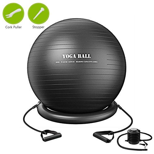 TOPELEK Balle Yoga 75cm, Ballon ...
