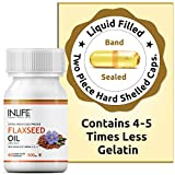 INLIFE Flaxseed Oil Omega 3 6 9 Fatty Acid Supplement - Extra Virgin