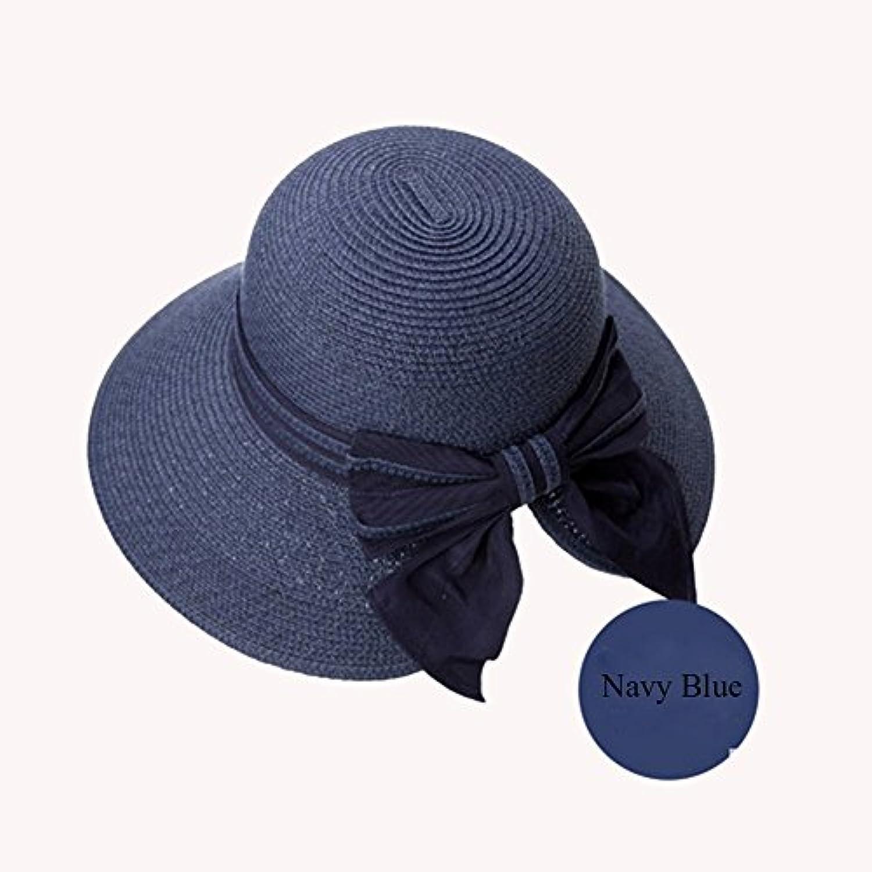 Hat Donne Cappello Estate Miscelato alla Cintura Cappello Donne di Paglia  di Prossoezione UV Sun Cappello 0399cf0f2253