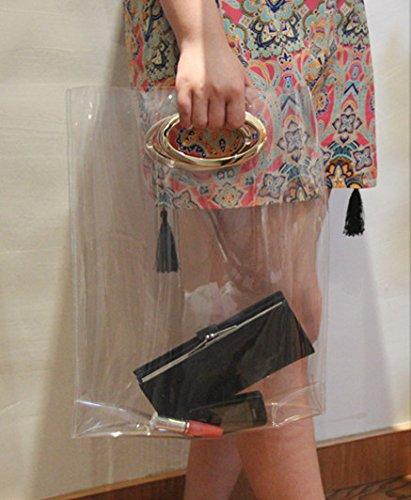 Zarapack - Sacchetto donna (Trasparente)