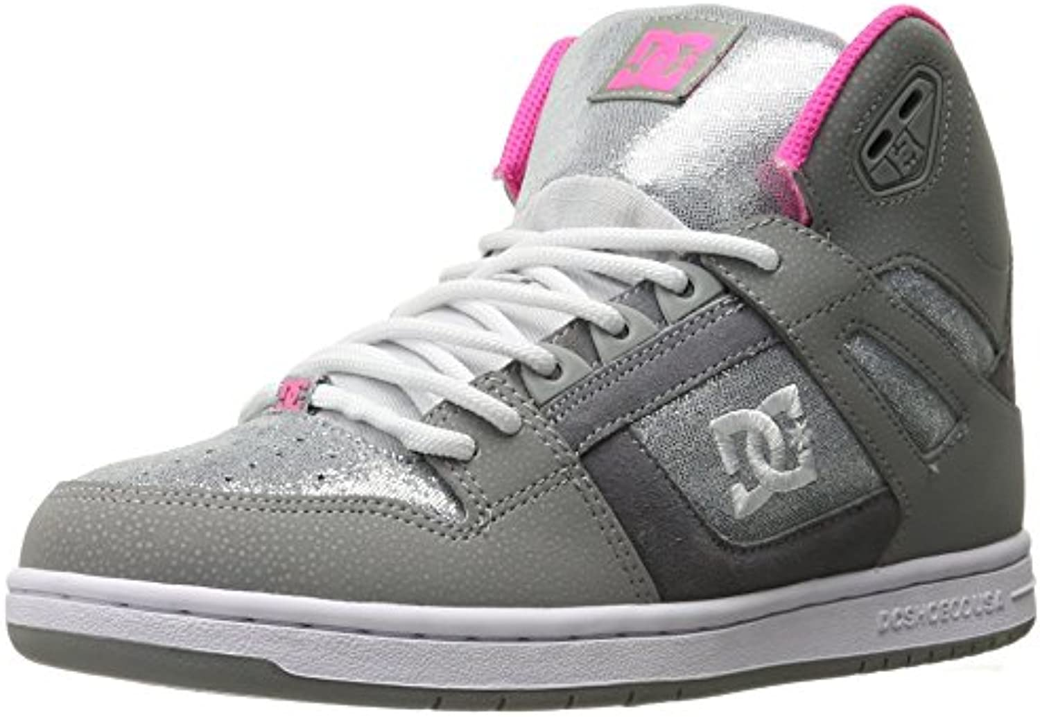 DC Women's Rebound High TX SE Skate w Skateboarding Shoe
