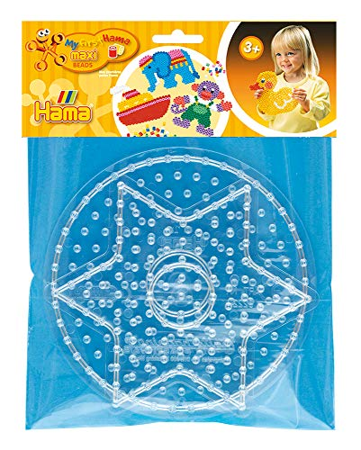 Hama 8282 Motiv Rahmen f/ür Maxi Perlen inklusive Steckplatte Quadrat und Zubeh/ör Mehrfarbig