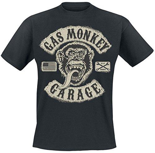 Gas Monkey Garage GMG Patch T-Shirt nero XL